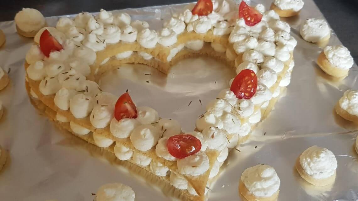 Number cake au chèvre