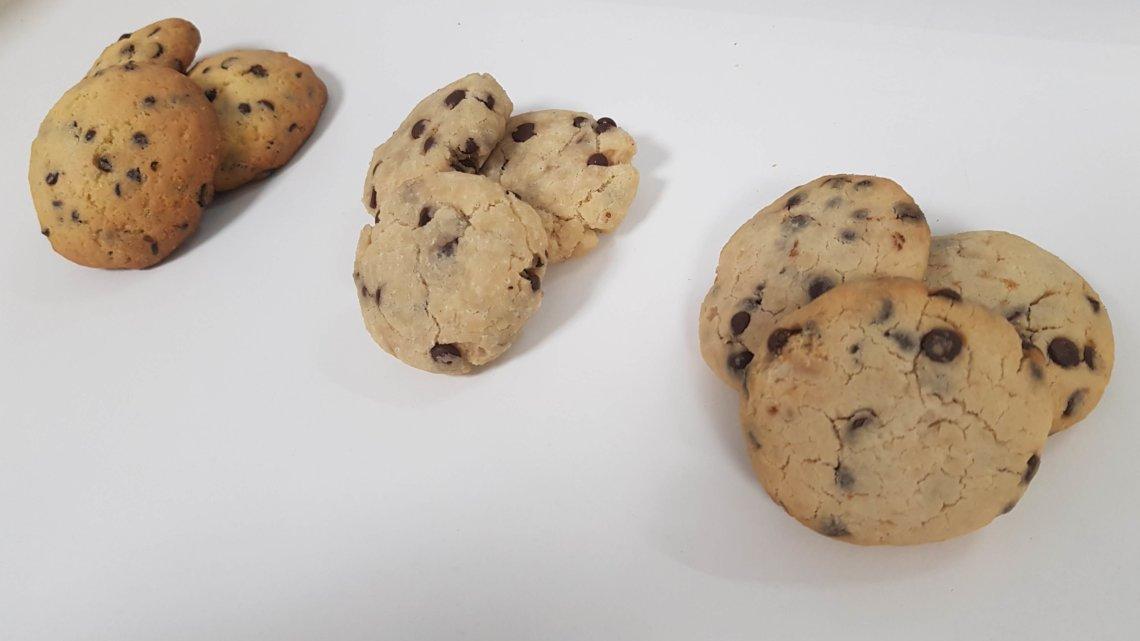 Cookies sans gluten : comparaison de 3 recettes