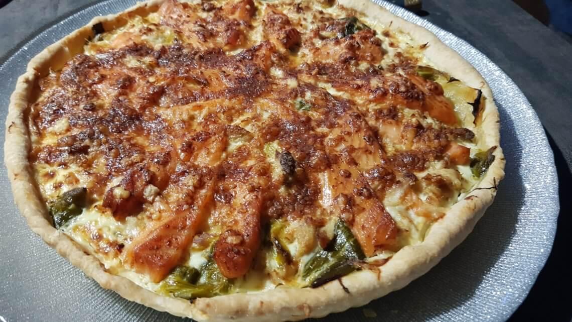 Tarte Poireaux – Saumon