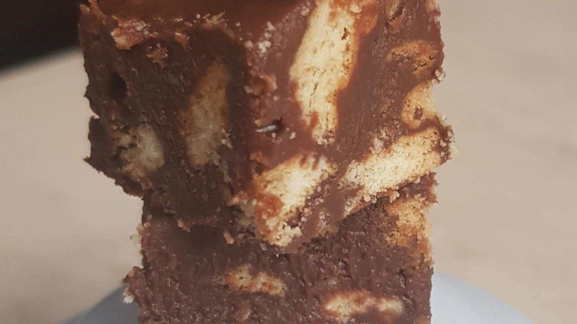 Bouchées chocolat/petit- beurre