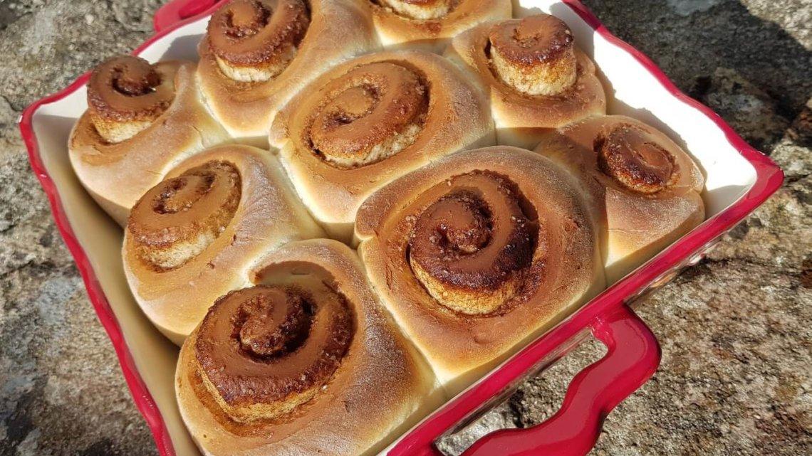 Cinnamon rolls (brioche à la cannelle)